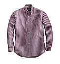 Raging Bull Long Sleeve Stripe Shirt