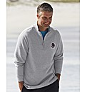 Williams and Brown 1/4 Zip Tracktop
