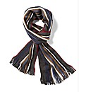 Camel Active Multi Stripe Scarf