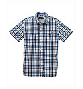 Weirdfish Lamen Checked Shirt