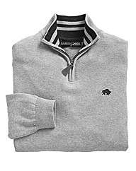 Raging Bull Cotton Cashmere 1/4 Zip Top