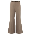 Grazia Kick Flare Belted Trousers L31in