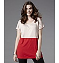 Bespoke Nineteen Hour Colour Block Top