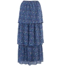 Grazia Tiered Maxi Skirt