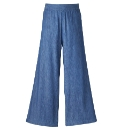 And Abigail Denim Palazzo Trousers