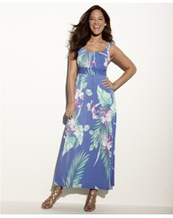 Anna Scholz Print Maxi Dress