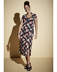 Anna Scholz Geisha Floral Dress
