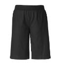 Crop Slouch Linen Shorts