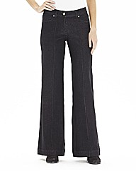Pixie Wide Leg Jeans 34in
