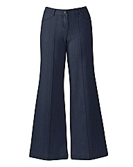 Pixie Wide Leg Jeans Length 31in
