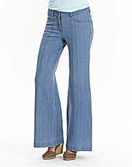 Pixie Wide Leg Jeans - Long