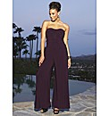 Grazia Belted Jersey Jumpsuit