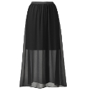 Grazia Maxi Skirt Half Lined