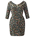 Ruby Rocks Butterfly Print Dress