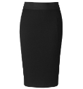 Bespoke Perfect Black Pencil Skirt