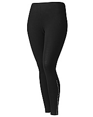 Changes Boutique Stud Trim Leggings