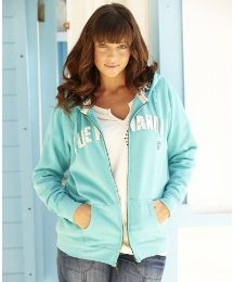 Blue Wahoo Florence Hooded Sweat Top