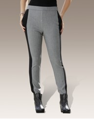 Contrast Panel Illusion Trousers
