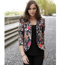 Flower Print Jacket