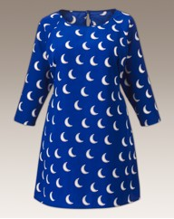 Moon Print Shift Tunic