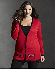 Jeffrey & Paula Zip Pocket Cardigan