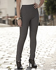 And Abigail Rib Trim Leggings