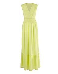 Crinkle Style Maxi Dress