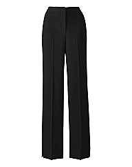 Zip Stretch Trousers Length 25in