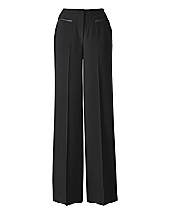 Magisculpt Wide Leg Trousers Length 25in