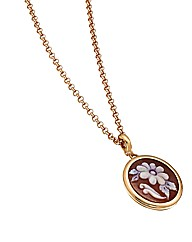 Sterling Silver & Rose Gold Pendant