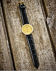 Limit Gents 24 Carat Gold Leaf Watch