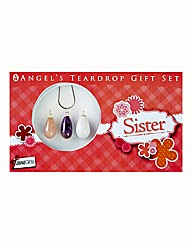 Angels Teardrop Sister Gift Set