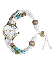 Kahuna Bead Tie Watch