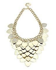 Kardashian Jewellery Heart Collar