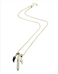 Kardashian Jewellery Spike Pendant