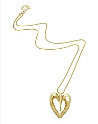 Kardashian Jewellery Heart Pendant