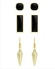 Kardashian Jewellery Earrings Trio