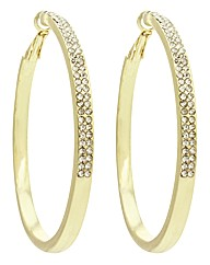 Kardashian Jewellery Hoop Earrings