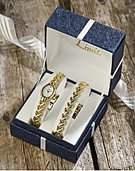 Limit Ladies Boxed Watch & Jewellery Set