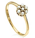 9 Carat Gold Pearl Ring