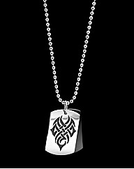 Stainless Steel Dog-tag Pendant