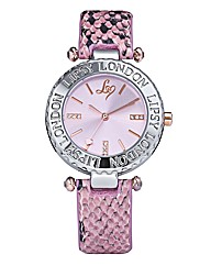 Lipsy Ladies Animal Print Watch