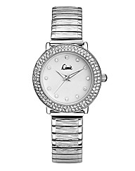 Limit Ladies Silver-tone Expander Watch