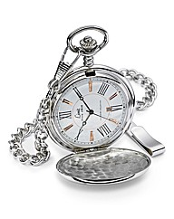 Limit Silver-tone Date Pocket Watch