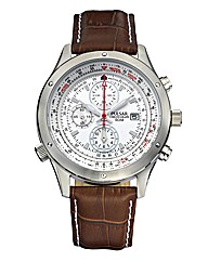 Pulsar Aviator Style Chronograph Watch