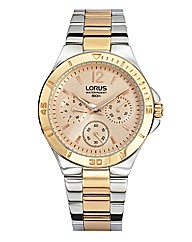 Lorus Ladies Rose-tone Bracelet Watch