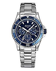 Accurist Blue Dial Gents Bracelet Watch