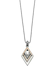 Fiorelli Geometric Triangle Necklace