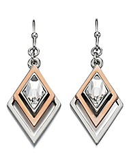 Fiorelli Geometric Triangle Earrings