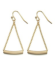 Fiorelli Gold-tone Bar Earrings